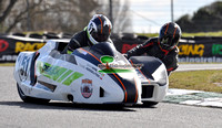 2018 Dunlop Masters RD1 Mondello Sidecar's